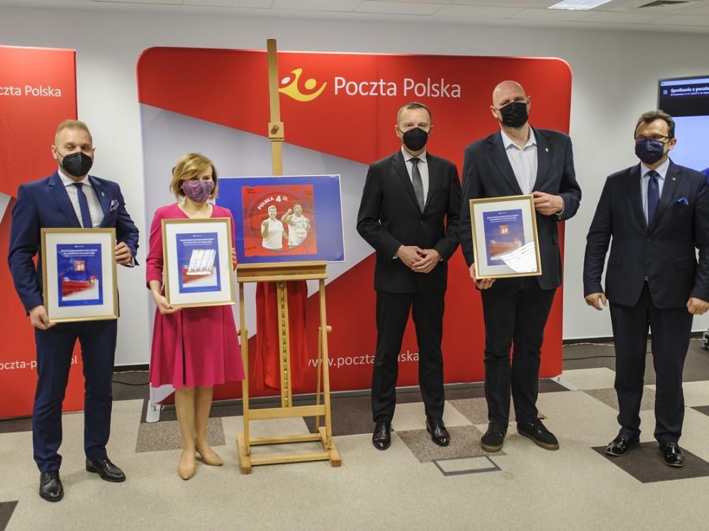 DME Silesia 21 na nowym znaczku Poczty Polskiej